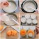 【レシピ】バニラと黄桃のグラスデザート