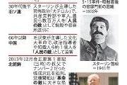 """変態毎日新聞「""""国民の敵""""発言は悲劇の始まり。ソ連の大粛清や中国の文化大革命思い出す」"""
