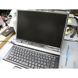 『液晶画面が映らないHP Compaq 6730b の修理作業』の画像