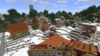 オレンジの屋根の民家を作る