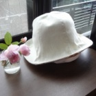 『こんな帽子が欲しかった【古着から作る布の帽子】』の画像