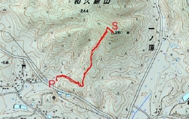 『和久羅山(262m)Jul.7,2019』の画像