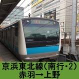 『京浜東北線 車窓[南行・2]赤羽→上野』の画像
