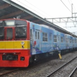 『本当にE217系はインドネシアに渡るのか?①車両限界測定試験実施』の画像