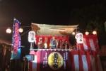 エレキがテケテケ!だんじりビアガーデンがロマンチック!住吉神社の盆踊りはこんな感じ!
