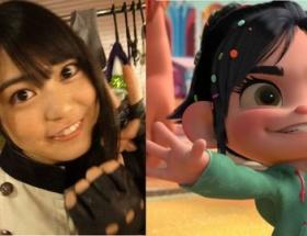 ディズニー映画「シュガー・ラッシュ」のヒロインがAKB48前田亜美にそっくりワロタww