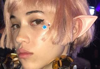 【モデル】水原希子、ど派手ピンクヘアで宇宙の妖精に「可愛すぎ」「超似合ってる」と絶賛の声
