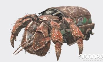 ハーミット・クラブ(Hermit crab)
