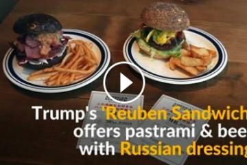 海外「日本人自由すぎ」大統領選挙を模したハンバーガーに仰天するアメリカ人