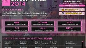 【AKB48 リクエストアワー 2014】 第1位は「清純フィロソフィー」