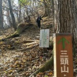 『三頭山(みとうさん)』の画像