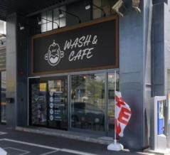 萱島生野病院近くに「WASH & CAFE」ができてる。カフェコーナーを併設したコインランドリー