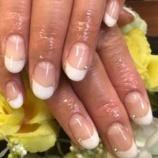 『sayoブログ「シンプルホワイトフレンチ☆」』の画像