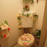 『味気ないトイレがオシャレに大変身!安くて簡単トイレインテリア術 1/3 【インテリアまとめ・インテリア雑貨 安い 】』の画像