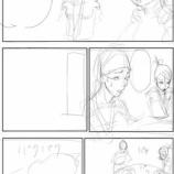 『長期連載用_漫画「不忍者」(ネーム=下描きに近い)』の画像