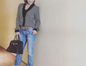 【画像】華原朋美さん(41)のイケてる私服をご覧下さい