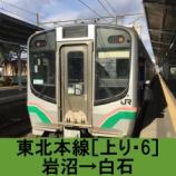 『東北本線 車窓[上り・6]岩沼→白石』の画像