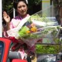 2013年横浜開港記念みなと祭国際仮装行列第61回ザよこはまパレード その8(十日町きもの女王・庄司亜美)