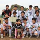 『[Jr6]第34回入間市少年少女サッカー ライオンズ杯試合結果』の画像