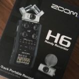『ZOOM H6 購入』の画像