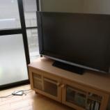 『《ケーブル配線収納─テレビ裏を掃除をしやすく浮かせる─》』の画像
