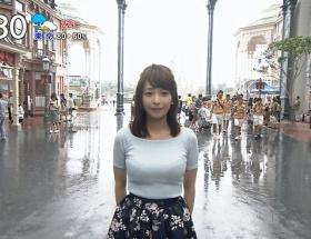 【画像】TBS宇垣美里アナ(24)が巨乳過ぎて朝からけしからんと話題に