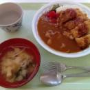 カツカレー350円