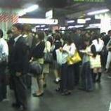 『埼京線ダイヤ混乱』の画像
