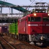 『田端運転所の機関車の貨物運用はいつまで続いたのか』の画像