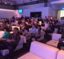 Windows発表会に参加した記者たちが使用するPCをご覧ください
