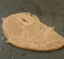 3Dプリンターでステーキ作成 豆や海藻などが原料 ビーガン向け