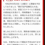 『第67回戸田橋花火大会(いたばし花火大会)が中止決定されました。年内の順延もありません。新型コロナウイルス感染拡大を防ぐための判断です。』の画像