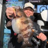 『2月13日 釣果 スーパーライトジギング メバルを中心にご案内263匹 爆釣でした~♬』の画像