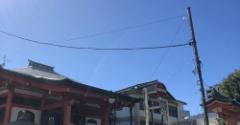 青い空の下神楽坂散歩♪&美味しいコンビニスイーツ見~つけた♪