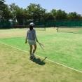 東海(三重)のキャンプ場でキャンプをしたら無料でテニスコートが借りれる。