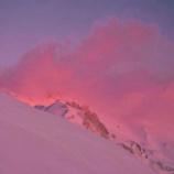 『モルゲンロート:明け方の燃える山』の画像
