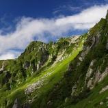 『宝剣岳へ』の画像