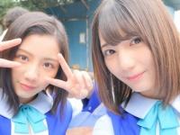 【日向坂46】可愛い二人の自撮り写真!背後に写っているのは・・・・