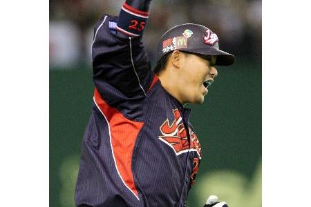 村田修一(2008) 打率.323 46本塁打 114打点 alt=
