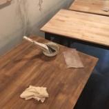 『テーブルをリメイク中』の画像