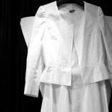 『フルオーダードレススーツのトワルチェック。』の画像