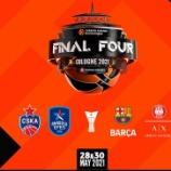 『EUROLEAGUE BASKETBALL(ユーロリーグ)20−21 ファイナル4@ケルン プレビューと予想』の画像