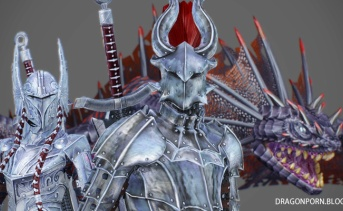 Zerofrost Mythical Armors and Dragon