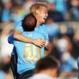 『横浜FC 攻撃陣が躍動!!FWイバら3発 3-0で愛媛に勝利!! タヴァレス監督「間違いなくチームは成長している」』の画像