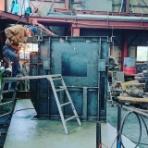 タンク、ホッパー製作。アルミ、ステンレス 修理溶接をやってる鉄工所。久留米道の駅近く 藤澤鉄工