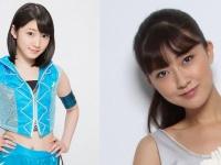 宮本佳林ちゃんと熊井友理奈ちゃんの身長差をご覧ください