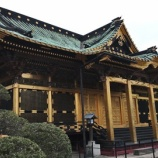 『黄金の社殿!関東大震災でも傾かない大石鳥居!上野東照宮』の画像