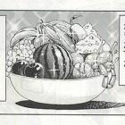 『トリコ食事シーン29巻1(酒で回復するマンサム)』の画像