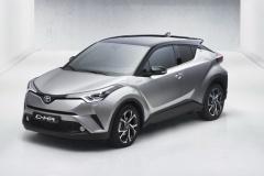 トヨタ、新型SUV「C-HR」市販モデル画像流出