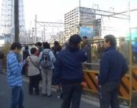 『新年号の表紙を撮影した日の東京スカイツリー周辺』の画像